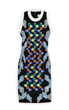 Peter Pilotto MB Dress by Peter Pilotto Now Available on Moda Operandi One Piece Dress, Dress Me Up, Mesh Dress, Sequin Dress, Shirtwaist Dress, Cocktail Attire, All Fashion, Fashion Ideas, Fashion Inspiration