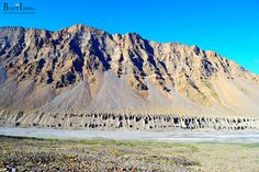 The Spiti River originates from Kunzum range and Tegpo and Kabzian streams are its tributaries. Water draining the famous Pin valley area are also a part of the Spiti river system. The mountains are barren and largely devoid of a vegetative cover. #travel #India #explore #Himalayas #Indiantrails #HimalayanAdventures #MountainAdventures #experienceIndia #Spitivalley #travellers #travelinginIndia #traveling #tripstoIndia #destinationIndia #HimalayanVillages #Monasteries #Kaza #Losar #Kibber…