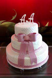 Hochzeitstorte_0007 - Eine sehr elegante Hochzeitstorte, die zu jeder ...