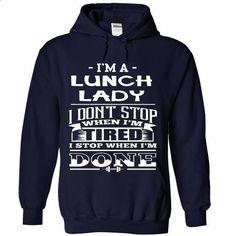 LUNCH LADY - custom sweatshirts #sweatshirt hoodie #athletic sweatshirt