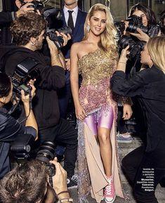 Valentina Ferragni for Cosmopolitan Strapless Dress Formal, Prom Dresses, Formal Dresses, Valentina Ferragni, Cosmopolitan, Backstage, Fashion Show, Photoshoot, How To Wear