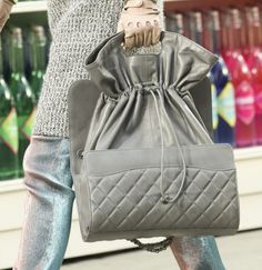 Handbag grigia Chanel