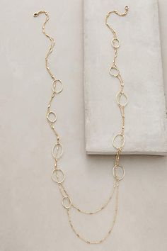 I own this. Effervescent Layered Strands - anthropologie.com