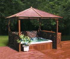 Monalisa M-905 Luxury Polystyrene Gazebo/Canopy/Bower/Hot Tub Shelter Dimension: 3000*3000*2900mm