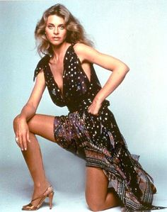 Lindsay Wagner, 1970s.  This dress!