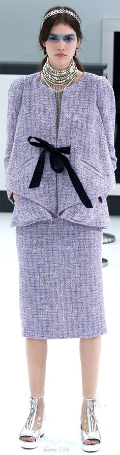 Not really my style but this jacket is gorgeous.  ~~  Chanel Spring 2016 RTW