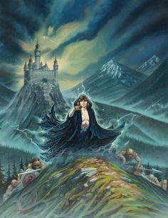 larry elmore - warriors of the night, 1979