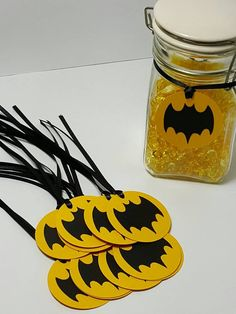 Batman birthday  batman gift tags  batman party  batman
