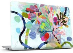 Fleurs Laptop Skins by Betsy Walton   Nuvango