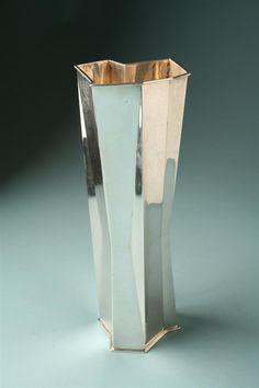 Anything would look good in this Tapio Wirkkala silver vase.