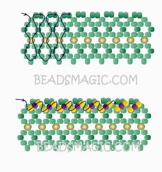 Free pattern for necklace Marriage Day | Beads Magic