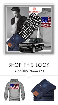 """""""SNAPMADE 1"""" by elza-345 ❤ liked on Polyvore featuring men's fashion and menswear"""