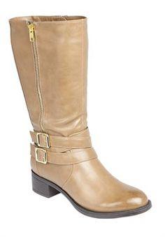 Plus Size Autumn Wide Calf Boot