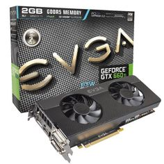 EVGA GeForce GTX660 Ti FTW Signature 2 2048MB GDDR5 192-Bit, Dual DVI-D, HDMI, DP and 3-Way SLI Ready GPU Graphics Cards 02G-P4-3664-KR by EVGA. $309.99. Get the weapon of choice for gamers the EVGA GeForce GTX 660 Ti. It adds a new dimension to the NVIDIA Kepler-powered family of graphics cards by delivering the ideal fusion of power, performance, and affordability. Experience faster, smoother, richer gaming with innovative NVIDIA technologies like TXAA ant alias...