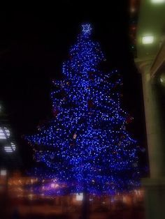 Blue Silver Christmas Tree | Blue and Silver Christmas Tree