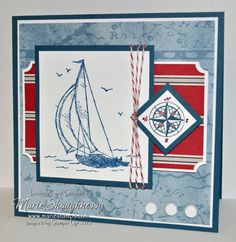 Come Sail Away by Card Shark - Cards and Paper Crafts at Splitcoaststampers