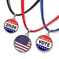 Home Election Slogans, Conservative Politics, Guys And Girls, Types Of Metal, Fashion Necklace, Antique Silver, Pendants, America, Pendant Necklace