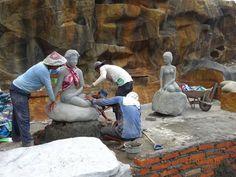 Pengerjaan patung
