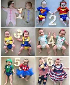 Fotinha dos meses com gêmeos  #casal  #amor #família 2 In, Cute Kids, My Girl, Kids Rugs, Baby, Photography, Alice, Cute Baby Girl Pics, Pregnancy Twins