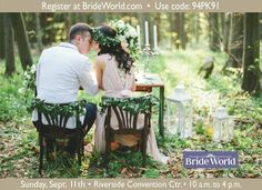Receive free admission for up to five guests to Bride World Expo Sept 11!