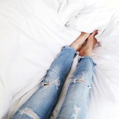 Babes in bed. // In need of a detox tea? Get 10% off your teatox order using our discount code 'Pinterest10' on www.skinnymetea.com.au X
