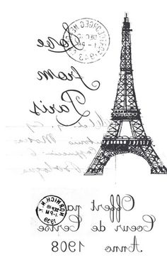 Paris / Decoupage / pictures for decoupage Foto Transfer Potch, Illustration Paris, French Typography, Images Vintage, Photo Transfer, Heat Transfer, Graphics Fairy, Paris Theme, Printable Labels
