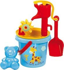 Gowi Toys Austria Water Mill Sand Toy with Pump Lyon, Toddler Furniture, Sand Toys, Sand Pit, Water Mill, Toddler Toys, Educational Toys, Austria, Baby Kids