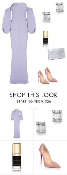 """Без названия #2187"" by newyorkstylrer ❤ liked on Polyvore featuring Safiyaa, Bloomingdale's, Dolce&Gabbana, Christian Louboutin and Jaeger"