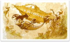 Steampunk Tendencies | BrianKesinger-steampunk-mechnical-kingdoms-2