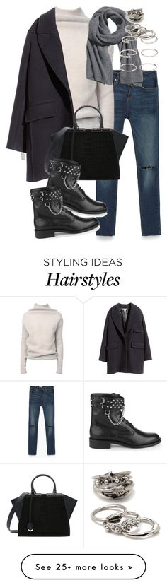 """""""Untitled #1741"""" by eleanorwearsthat on Polyvore featuring Zara, Rick Owens, H&M, Fendi, Yves Saint Laurent and Forever 21"""