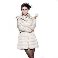 Winter Hooded Outerwear Women's Long Down Coat Parka jacket  http://www.yearofstyle.com/winter-hooded-outerwear-womens-long-down-coat-parka-jacket/