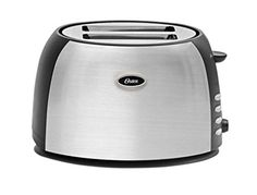 Start your day with toast made your way. This 2-slice toaster is equipped to toast breads, bagels and more to your taste. Advanced toasting technology and settings from light to dark provide consistent results every time. You can enjoy the perfect texture and shade of toast, bagel, waffle or english muffin. With the Oster brand, you can cook with passion and serve with pleasure. Beautifully housed in brushed stainless steel with attractive black accents, this two-slice toaster from Oster…