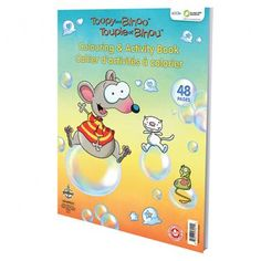 Toopy and Binoo - Coloring and Activity Pad 48 pages of fun! A giant coloring and activity pad just for the Toopy and Binoo lovers! Trendy Kids, Color Activities, Boy Birthday, Birthday Ideas, Fine Motor Skills, Little Ones, First Birthdays, Books, Theme Ideas