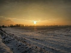Winter, Lower Mickletown,  Methley