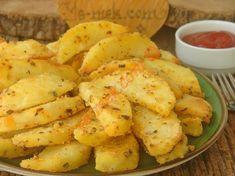 Fırında Mısır Unlu Patates Kızartması Resmi Healthy Food List, Healthy Recipes, The Breakfast Club, Potato Salad, Catering, Shrimp, Side Dishes, Appetizers, Food And Drink