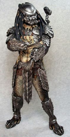 Celtic Predator sculpted by Narin painted by Joe Dunaway