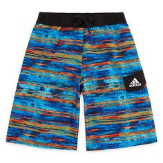 3c3a7558d8 Adidas Water Stripe Swim Trunks-Boys 8-20   Products   Pinterest ...