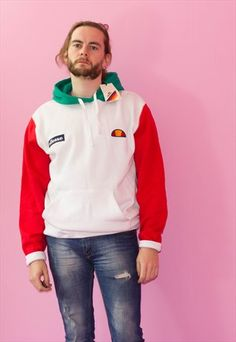 New Dead-stock Ellesse Long Sleeved Hoodie Jumper