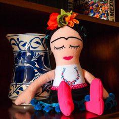 Hey, I found this really awesome Etsy listing at https://www.etsy.com/listing/233861833/frida-kahlo-doll-soft-doll-handmade