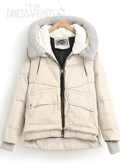 Celebrity New Arrival European Style Large Size Down Coat