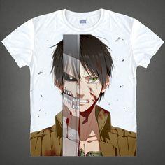Attack On Titan Short Sleeve T-Shirt V8