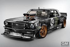 ケン・ブロックさん、「1965フォード・マスタングHOONICORN」どう見ても「ZOKU車」にしか見えませんけど・・・