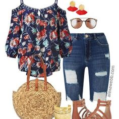 Plus Size Festival Outfit – Plus Size Festival Fashion – Plus Size Boho Outfit -… – Outfit Inspiration & Ideas for All Occasions Boho Outfits, Curvy Outfits, Spring Outfits, Plus Size Outfits, Casual Outfits, Fashion Outfits, Plus Size Summer Clothes, Plus Size Fashion For Women Summer, Hipster Outfits