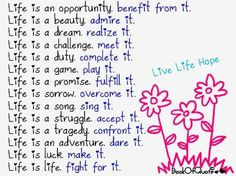 Image detail for -Definition of Life, Beautiful Quotes of Life