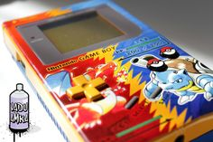 Custom Pokémon Red and Blue Nintendo Game Boy