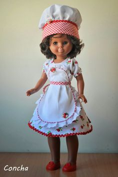 Una recopilación de mis conjuntos de Nancy, originales, réplicas y modelos propios. American Girl, Nancy Doll, American Doll Clothes, Wellie Wishers, Glamour, Summer Dresses, Sewing, Crochet, Casual