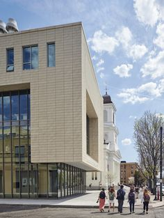 Lesley University - Lunder Arts Center Terracotta Rainscreen - Shildan Terracotta Rainscreen Facade