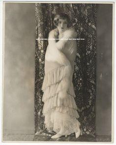 MARION DAVIES BEAUTIFUL VINTAGE DBL WT OVERSIZE PORTRAIT PHOTO BY R H LOUISE
