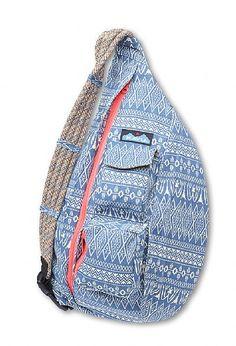 Kavu Rope Bag - Color: Blue Blanket