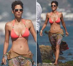Halle Barry 45 years old This is the body I am working out to have!